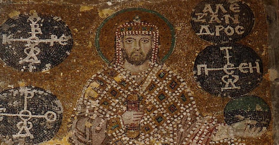 imparator aleksandros mozaik